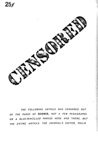 Censored cover